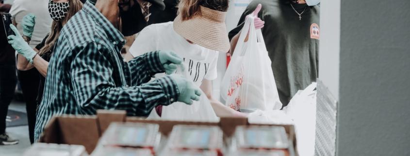 Percorsi di volontariato: Samuele, l'esperienza alla Caritas e la raccolta alimentare